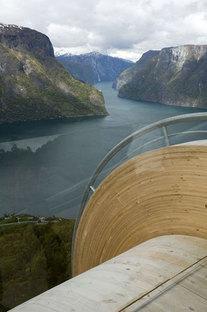 Aurland. Itinéraires touristiques en Norvège