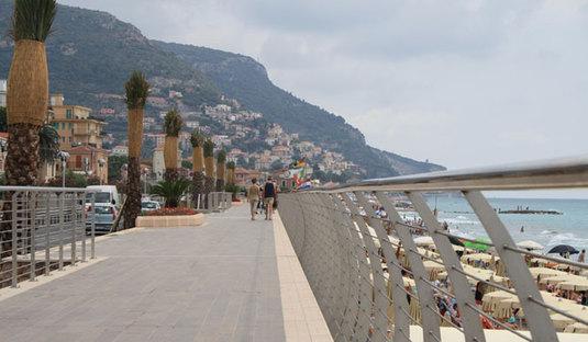 Promenade du bord de mer - Pietra Ligure (SV)