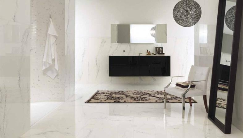Sols et revêtements en marbre : la technologie Ariostea
