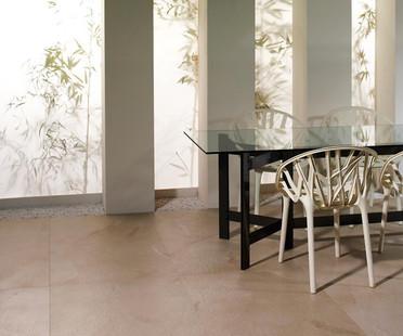 Surfaces et effets. Sols et revêtements en marbre, pierre, granit, résine et béton