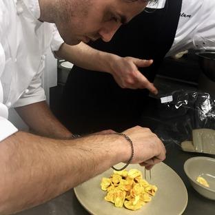 Domenico Della Salandra, lo chef che ci fa desinare lentamente
