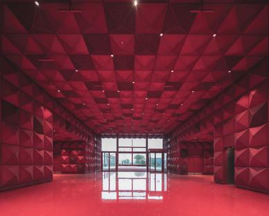 Le musée de la pop et du rock de Ragnarock en polycarbonate