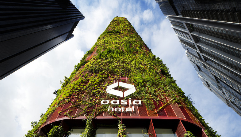 OASIA HOTEL Gratte-ciel végétalisé à Singapour – WOHA Architects