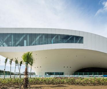 I dettagli Costruttivi del Centro d'arte di Kahosiung dei Mecanoo