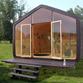 Casa di cartone e legno Wikkelhouse