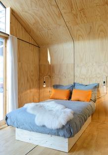 La maison en bois et carton de Wikkelhouse
