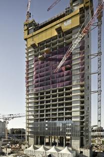 La structure de l'Allianz Tower de Milan - Andrea Maffei et Associés