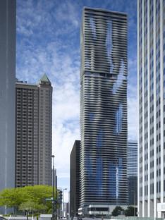 Studio Gang réalise l'Aqua Tower à Chicago