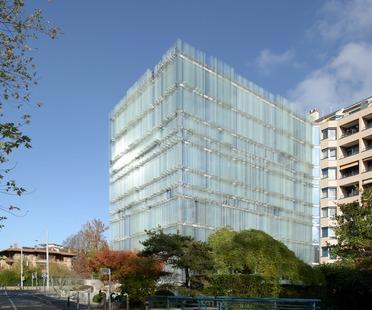 Cabinet Vaccarini : verre sérigraphié pour le siège social de la Société Privée de Gérance