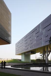 Le gratte-ciel horizontal de Steven Holl à Shenzhen (Chine)