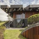 Structure en acier pour le toit du Taekwang Country Club Café de Mecanoo