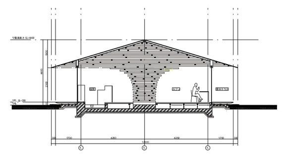 Structure en forme d'arbre pour la Coeda House de Kengo Kuma