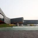 La façade du gratte-ciel horizontal de Steven Holl à Shenzhen (Chine)