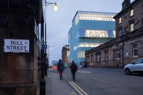 La Glasgow School de Steven Holl et ses puits de lumière