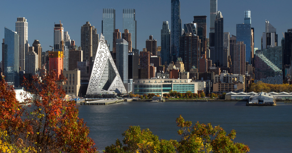 Le Courtscrapere W57 de Manhattan par BIG Bjarke Ingels Group
