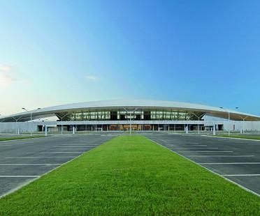 La toiture du Carrasco International Airport de Viñoly à Montevideo