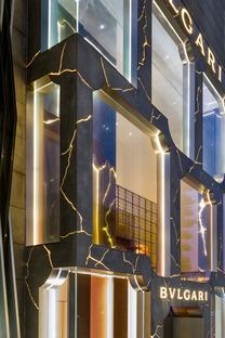 Le flagship Bulgari à Kuala Lumpur, GRC et LED par MVRDV
