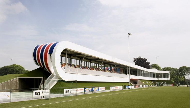 Le centre sportif LIAG et ses terre-pleins isolants
