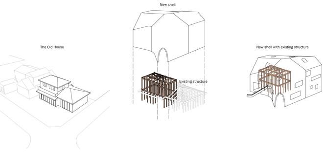 Le cabinet MAD réalise à Okazaki une école maternelle en bois et en tuiles d'asphalte