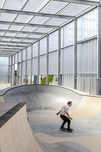 Effekt Architects rénove un hangar afin de l'adapter aux sports de rue