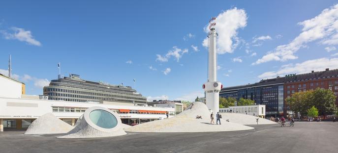 Le cabinet JKMM signe à Helsinki les coupoles en béton du musée d'art Amos Anderson