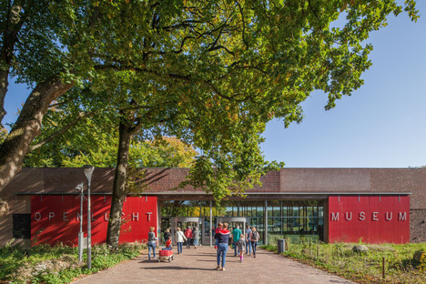 Briques, cuivre et bois pour l'écomusée des Pays-Bas de Mecanoo