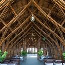 Couverture en bambou pour le Nocenco Café du cabinet VTN Architects