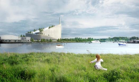 Priorité à l'écologie avec l'usine d'incinération des déchets Amager Resource Center signée BIG