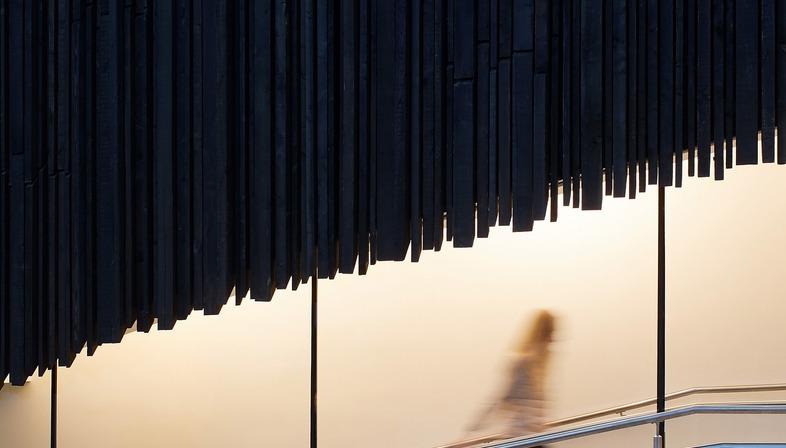 Façade en bois pour le nouveau Cultural quarter du Wellington College signé Seilern Architects