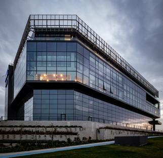 Verre et béton pour le centre de recherche et de développement Kordsa à Istanbul