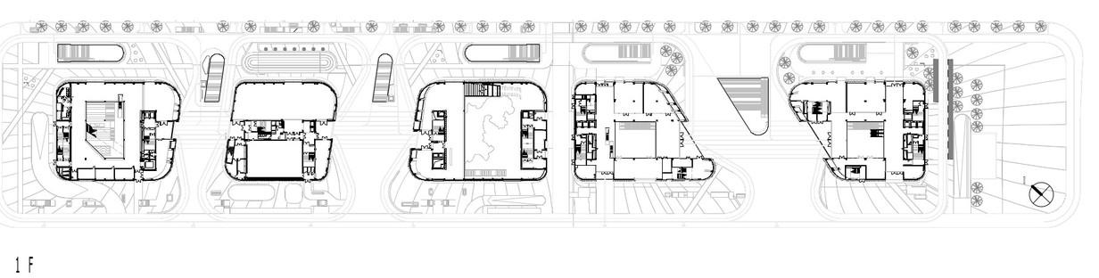 Longgang de Mecanoo, une façade entre béton et aluminium