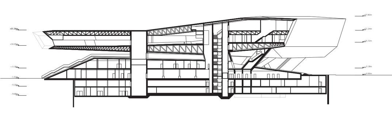 Le musée Porsche en acier et béton de Delugan Meissl à Stuttgart