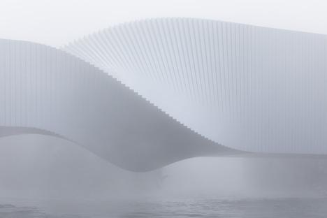 Acier, bois peint et aluminium pour le Twist Museum de Big