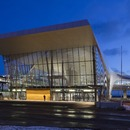 Le cabinet PES architects signe la West Terminal d'Helsinki, un terminal de ferries en acier et en béton