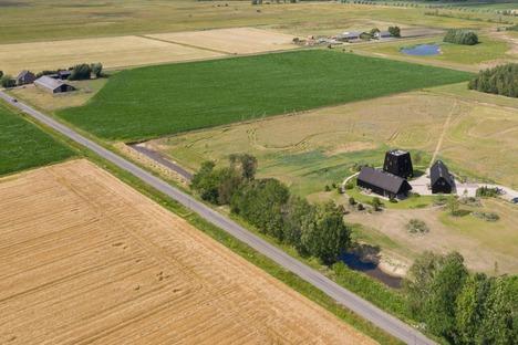 Une ferme hollandaise en bois et en aluminium signée Mecanoo