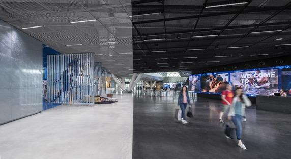 Des poutres Vierendeel pour l'Adidas Arena de Behnisch Architekten.