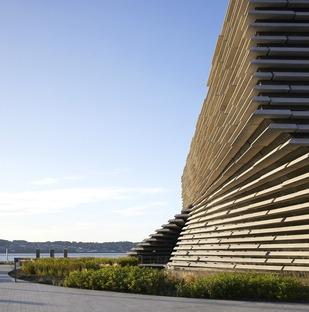 Des façades à brise-soleil en béton pour le musée V&A Dundee