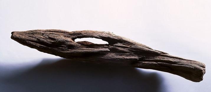 Le musée de la sculpture en bois signé MAD est en acier poli.