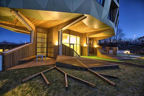 Le cabinet Helen & Hard Architects signe des tours en béton, bois et aluminium