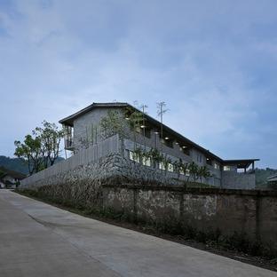 TAO réalise un ouvrage en béton pour une fabrique de radeaux en bambou
