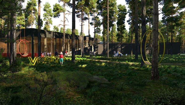 The Plus : une usine verte signée BIG pour le fabricant de mobilier urbain Vestre