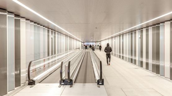 COBE et Arup signent une station de métro brutaliste en béton armé