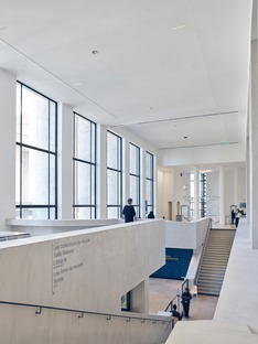 h2o architects réalise pour le MAM un réaménagement renouant avec l'architecture originelle