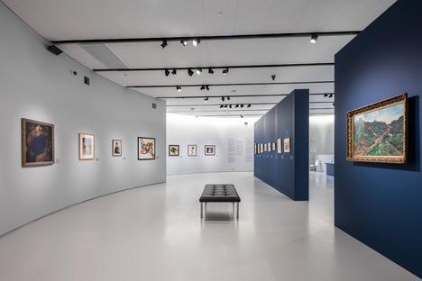 Béton et aluminium perforé pour un micro-musée dédié aux impressionnistes russes