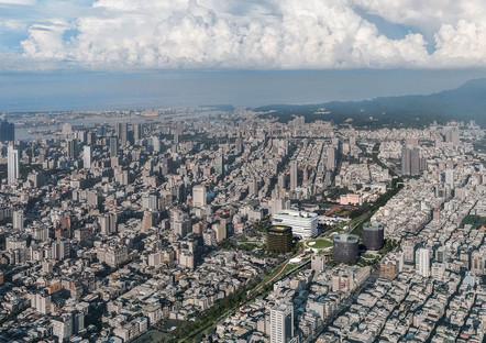 La gare en cours d'achèvement de Kaohsiung est signée Mecanoo