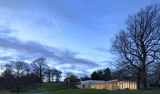 Bois et béton stratifié pour le Yorkshire Sculpture Park de Feilden Fowles Architects