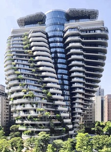 Vincent Callebaut signe une forêt verticale absorbant le carbone