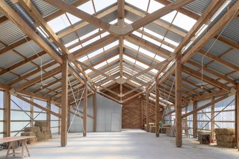 La Waterloo City Farm : un projet de Feilden Fowles en bois et en tôle