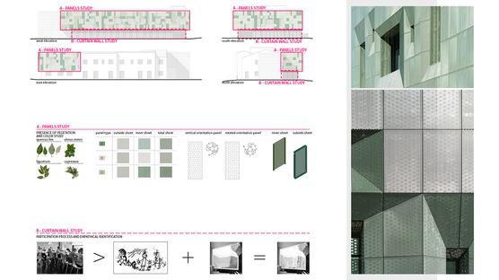 Façade à double couche en aluminium micro-perforé pour la Casa Verde signée LDA.iMdA