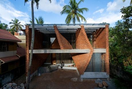 La Pirouette House en briques de Wallmakers architects